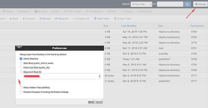 filemanager-setting